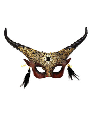 Lord of the Darkness Teufels Halbmaske