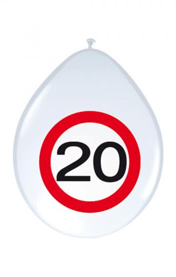 Air Balloon Road Sign 20