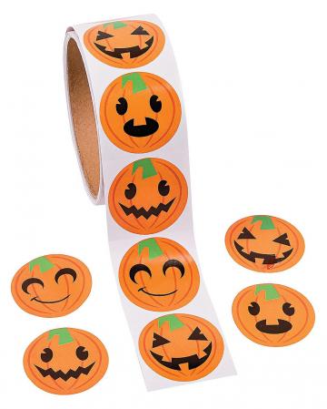 Funny Pumpkin Stickers