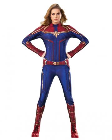 Captain Marvel Jumpsuit Kostüm Damen