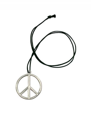Metal Hippie Pendant Peace