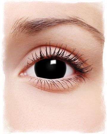 Mini-Sclera Contact Lenses Black