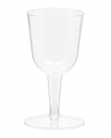 Mini Weingläser Kunststoff 73ml 20 St.