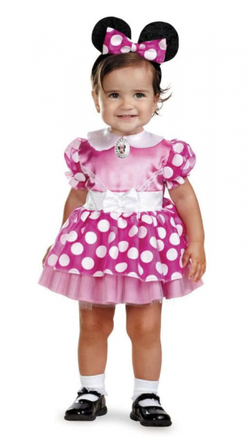 Minnie Mouse Babykostüm 12 - 18 Mo