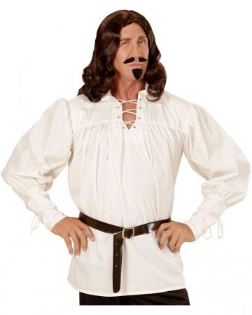 Mittelalter Kostüm Hemd creme