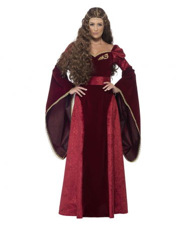 Medieval Queen Costume Deluxe Plus Size