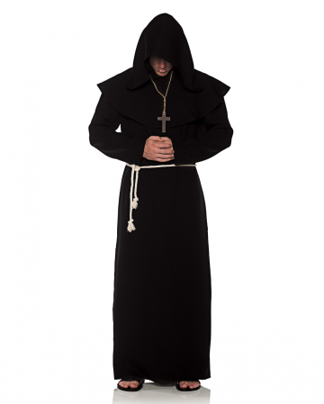 Monk's robe costume black