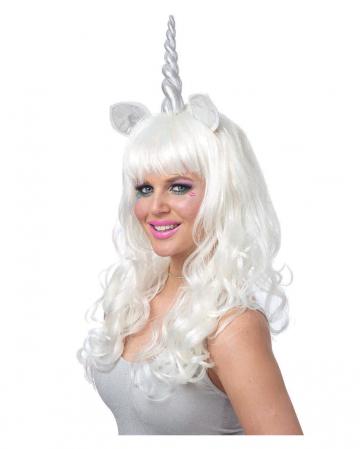 Mystic Unicorn Wig Silver