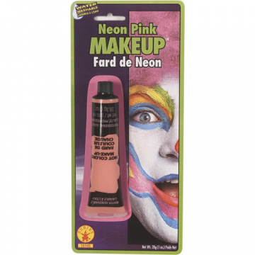 Neon pink Make Up
