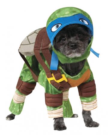 Ninja Turtle Leonardo Dog Costume