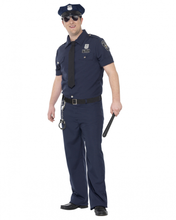 NYC Policeman Plus Size Costume