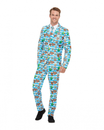 Oktoberfest Party Anzug 3 tlg für Herren