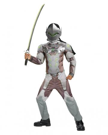 Overwatch Genji Kids Costume