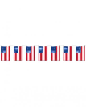 Papier-Fahnenkette USA