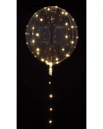 Party Ball Balloon With LED Light Chain