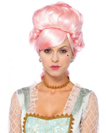 Pastel Marie Antoinette Perücke