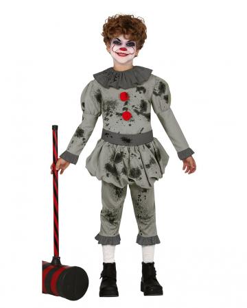 Pepe The Horror Clown Kids Costume
