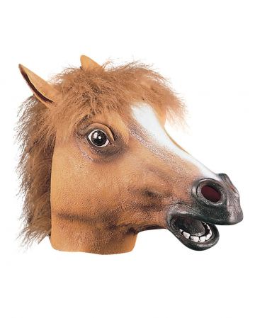 Pferde Maske aus Latex