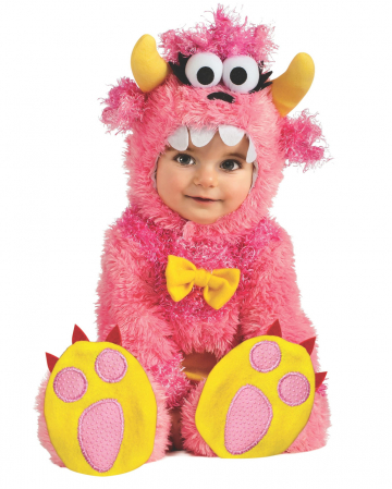 Pink Mini Monster Baby Costume