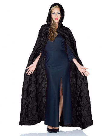 Pintuck Cape Black