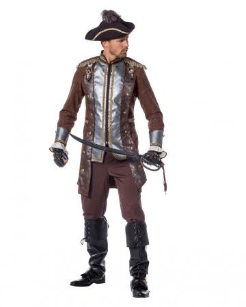 Pirate William Men Costume Deluxe