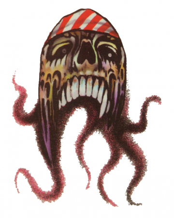 Pirate Tattoo Octopus