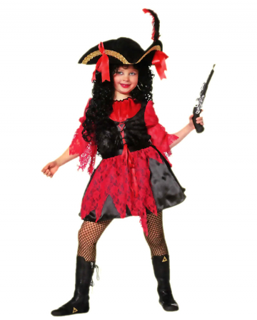 Piraten Girl Mädchenkostüm