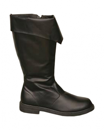 Pirate Boots With Black Cuffs