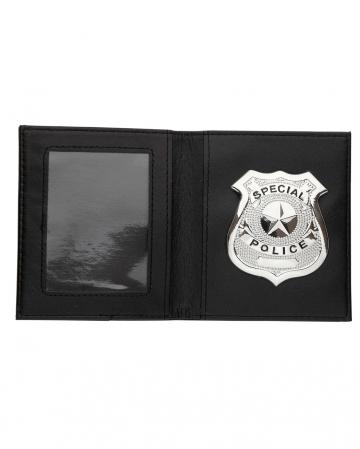 Police Badge In Wallet