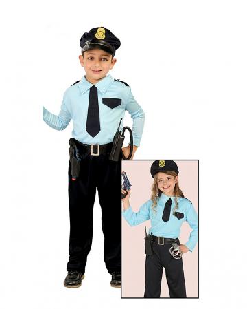 Policemen Children Costume
