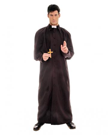 Priest / Reverend Costume black