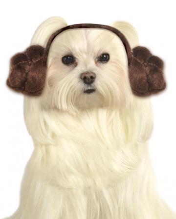 Prinzessin Leia Hundefrisur