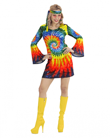 Psychedelic Hippie Girl Costume