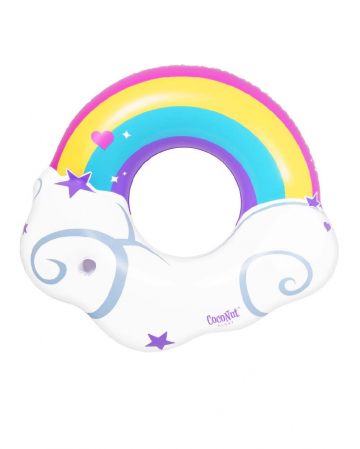 Rainbow Swimming Ring 120cm