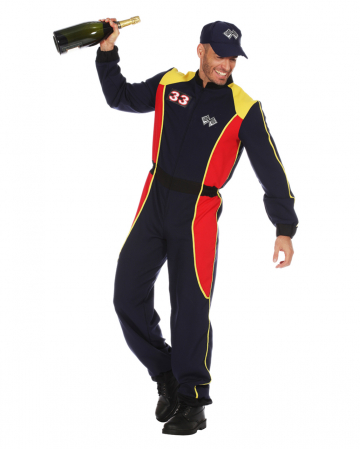 Racer Men Costume Suit