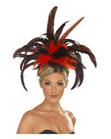 Burlesque Hairline With Feathers
