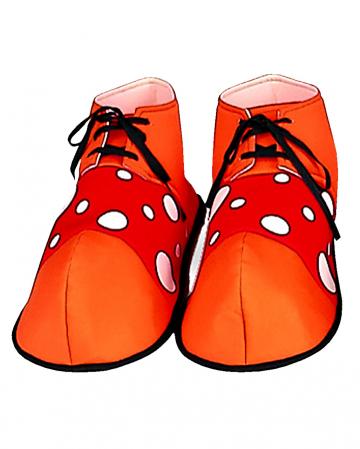 Clown Schuhe mit Punkten