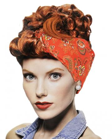 River Girl Wig Chestnut Red