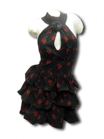 Rockabilly Tattoo Dress Size M