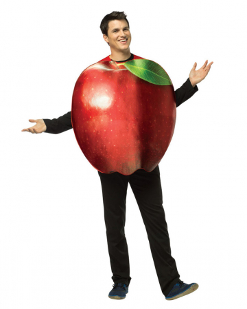 Red apple costume