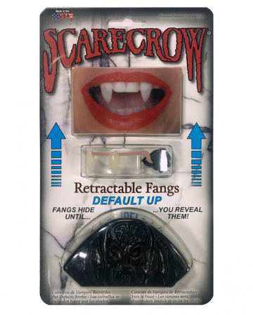 Scarecrow Retractable Vampire Teeth UP