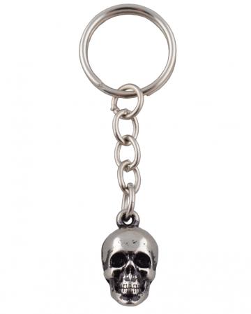 Key Ring Skull Of Metal