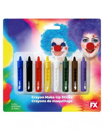 8-teiliges Make Up Stifte Set
