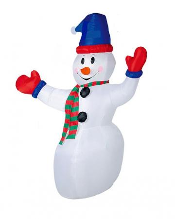 Schneemann mit LED aufblasbar 240cm