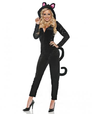 Black Cat Costume Jumpsuit