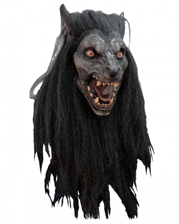 Black Moon Werwolf Maske