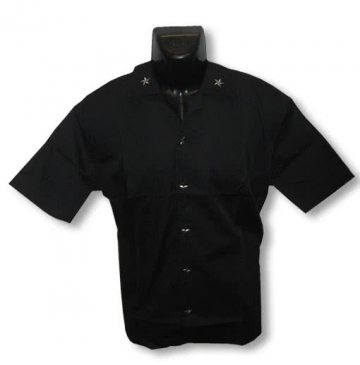 Black shirt with stars