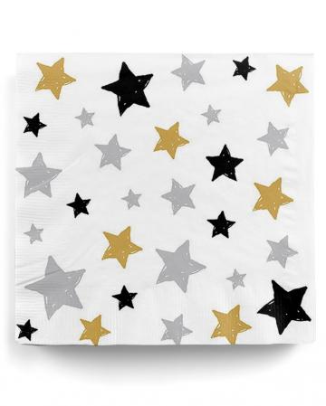 Napkins Stars 20 Pcs.