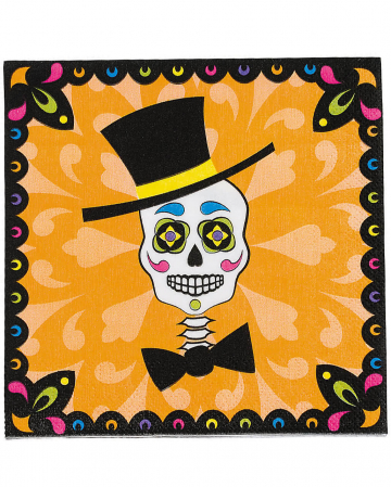 Napkins Day of the Dead 16 Pc.
