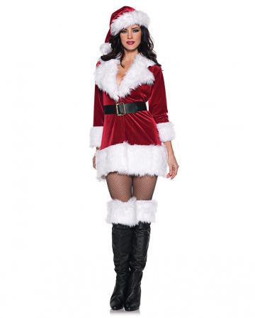 Sexy Nikolaus Frau Kostüm
